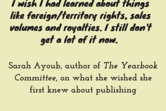 #LoveOzLit: Sarah Ayoub, author of The YearBook Committee