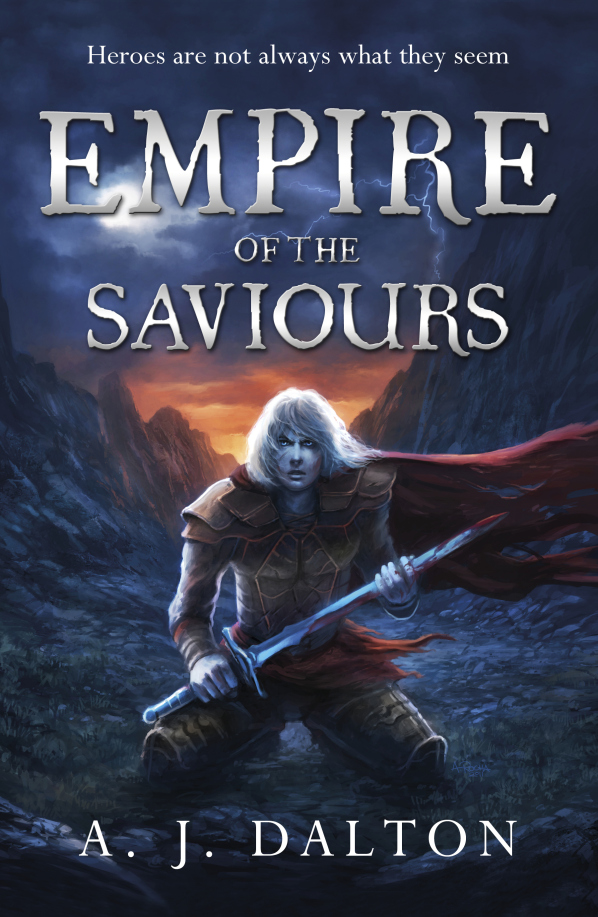 Interview with AJ Dalton author of Empire of Saviours