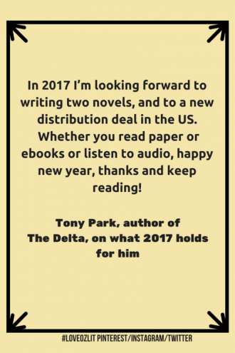#LoveOzLit: Tony Park shares what's coming up for him in 2017