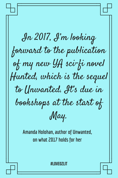 #LoveOzLit: Amanda Holohan shares what she's looking forward to in 2017
