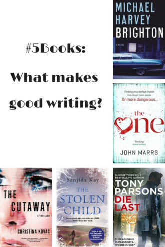 #5Books Book recs for the week ending 9 APril 2017