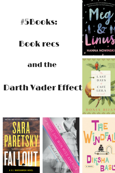 #5Books book recs for the week ending 24 April 2017
