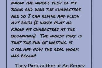#LoveOzLit: Tony Park on revising manuscripts
