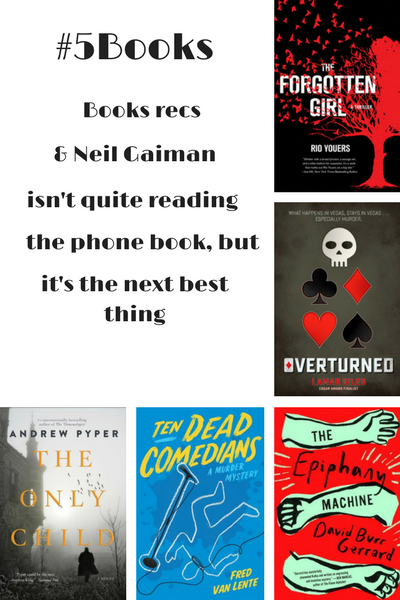#5Books for the week ending 28 May 2017
