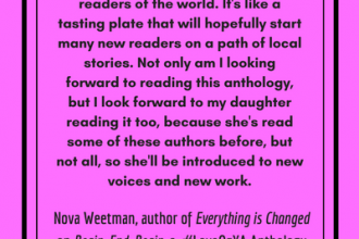 Nova Weetman on what it means to have a #LoveOzYA anthology