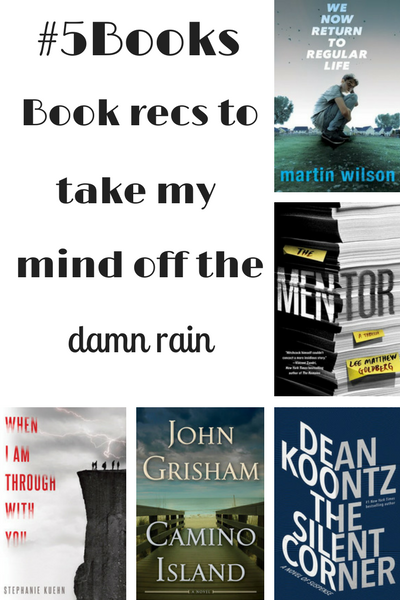#5Books for the week ending 11 June