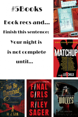 #5Books for the week ending 18 June