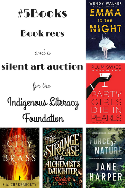 #5Books for the week ending 25 June