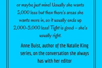 #LoveOzLit Anne Buist on the length of manuscript
