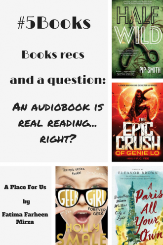5Books Book recs for the week ending 9 July