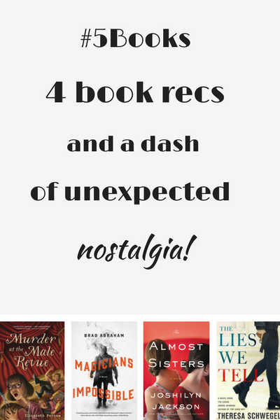 #5Books for the week ending 15 July