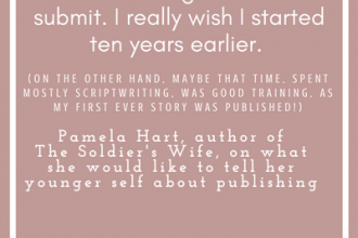 #LoveOzLit Pamela Hart shares what she would tell her younger self about publishing