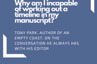 Tony Park on the discussion he always had with his editor