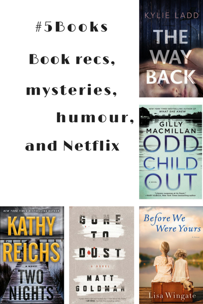 #5Books for the week ending 20 August