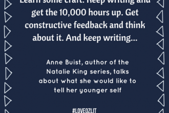 #LoveOzLit Anne Buist shares what she'd tell her younger self