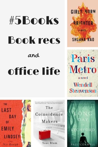 #5Books for the week ending 15 October