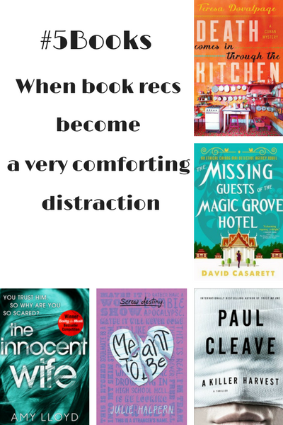 #5Books for the week ending 22 October
