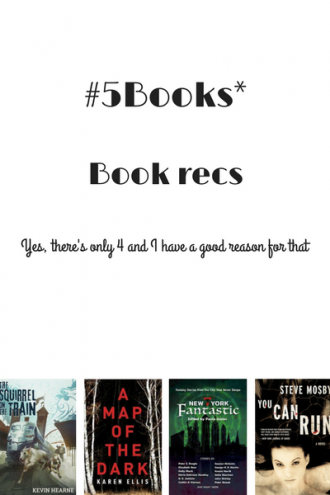 #5Books for the week ending 29 October