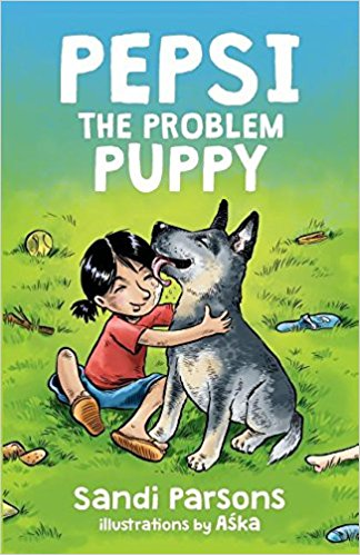 CBCA review Pepsi the problem puppy