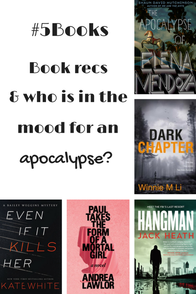 #5Books for the week ending 12 October