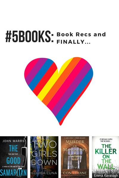 #5Books for the week ending 10 December