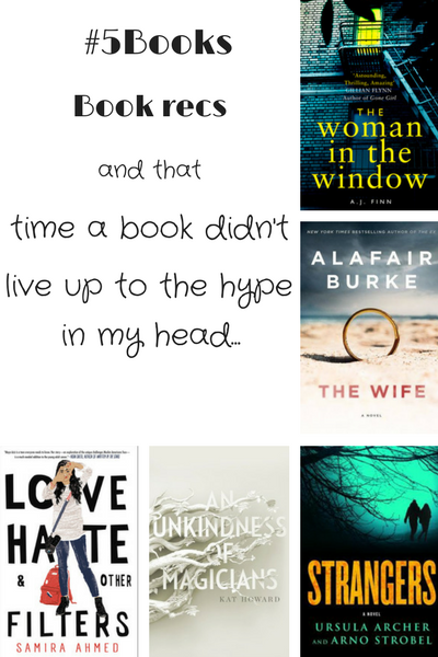 #5Books for the week ending 3 December