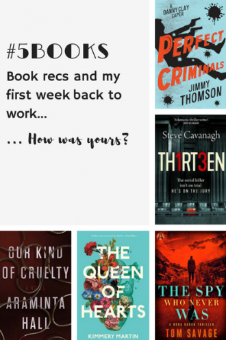 #5Books for the week ending 14 January
