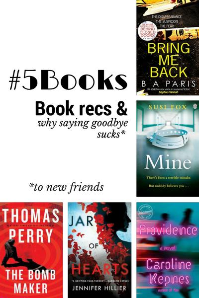 Book recs for the week ending 21 Jan