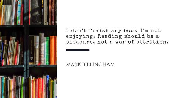 Mark Billingham Quote