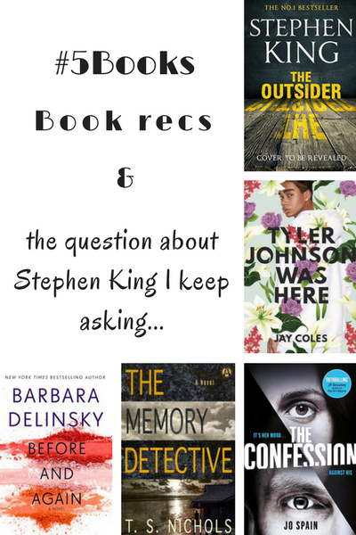 #5Books for the week ending 11 February