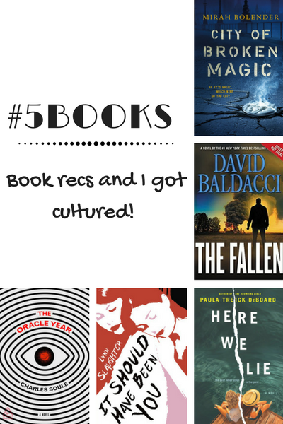 #5Books for the week ending 4 Feb 2018