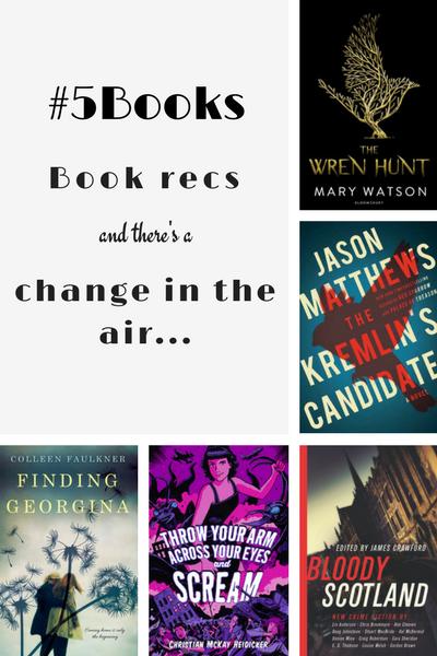 #5books for the week ending 18 February
