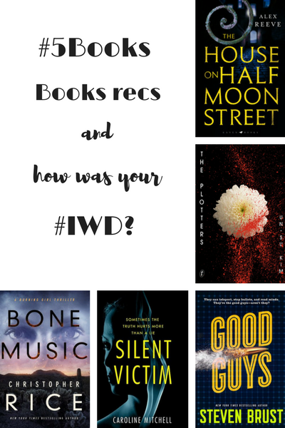#5Books for the week ending 11 march
