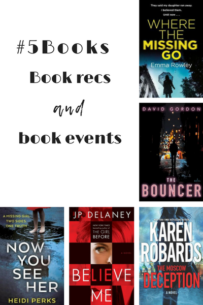 #5Books for the week ending 6 may 2018