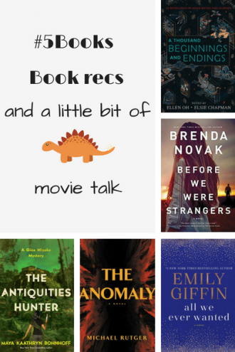 #5Books book recs for the week ending 1 july 2018