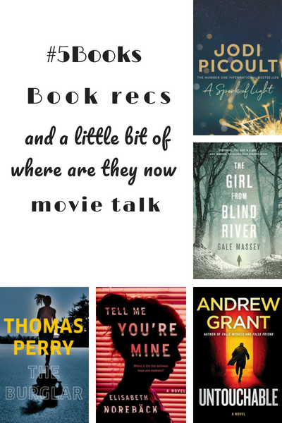 #5Books for the week ending 15 July 2018