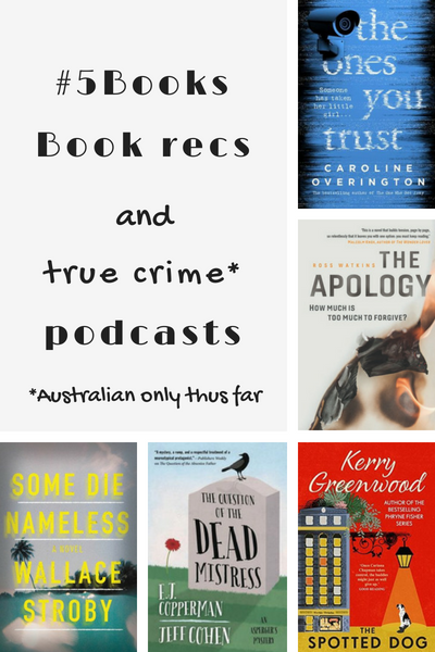 #5Books for the week ending 22 July 2018