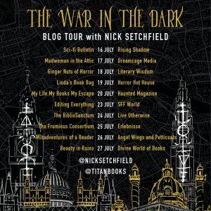 The War in the Dark Blog Tour