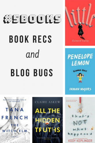 #5Books for the week ending 26 August 2018