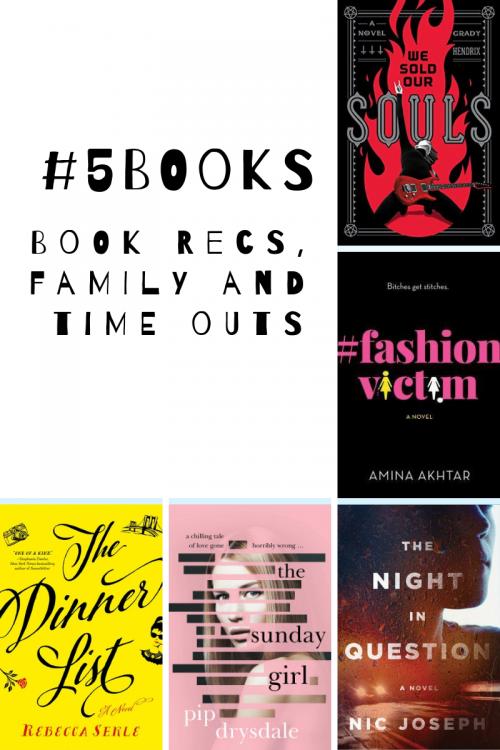 #5Books for the week ending 16 September 2018