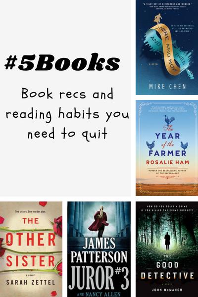 #5Books for the week ending 2 September 2018