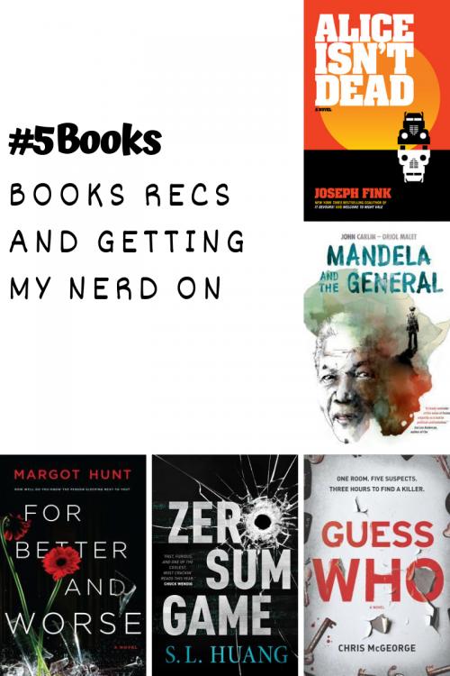 #5Books for the week ending 30 September 2018