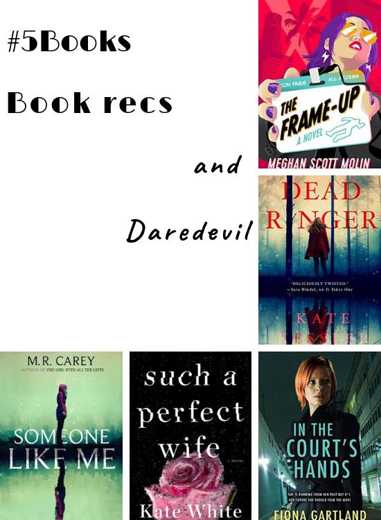 5books Book Recs And Daredevil Pop Edit Lit