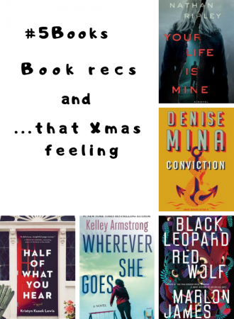 #5books for the wek ending 16 December 2018