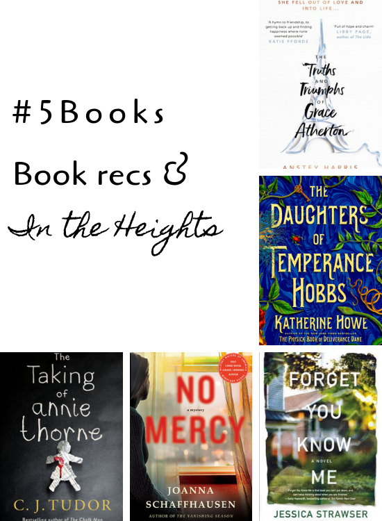 #5Books for the week ending 19 jan 2019