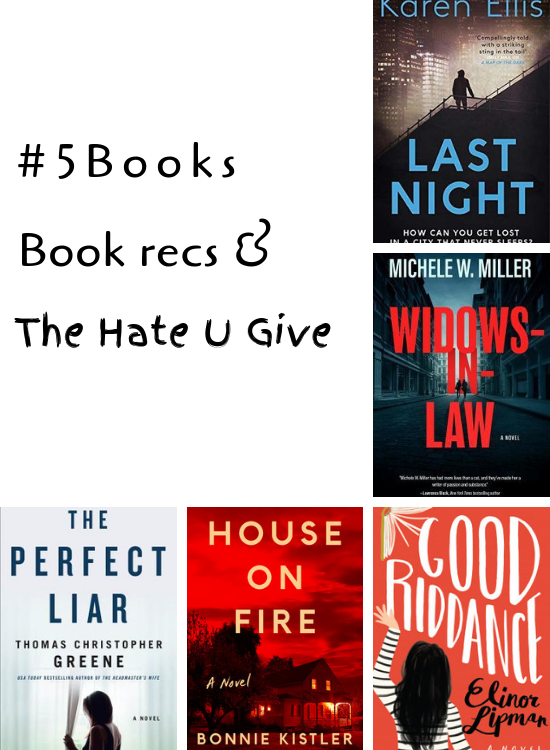 #5Books for the week ending 27 jan 2019