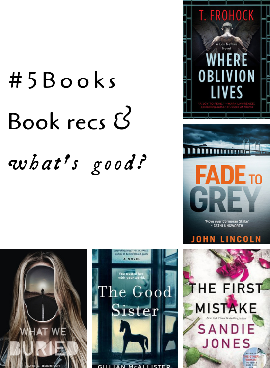 #5Books for the week ending 24 february 2019