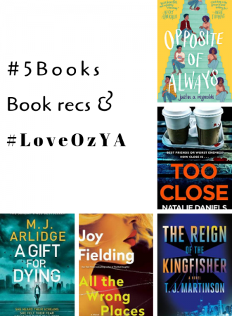 #5Books for the week ending 10 March 2019
