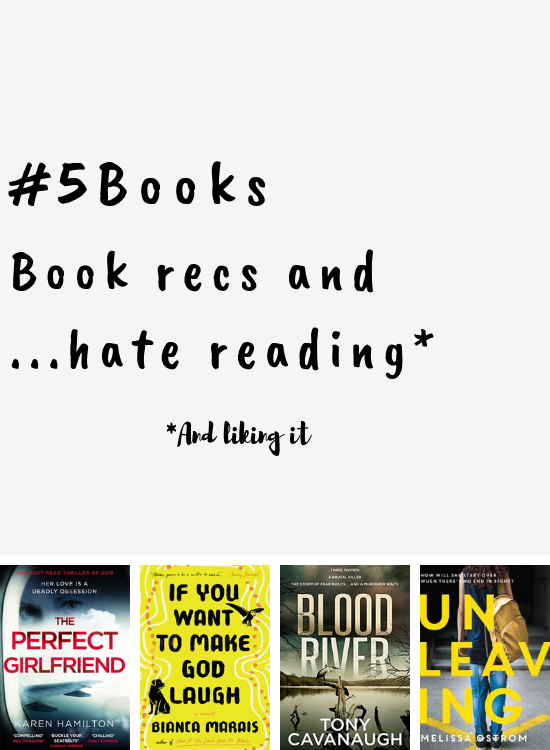 #5Books for the week ending 3 march 2019