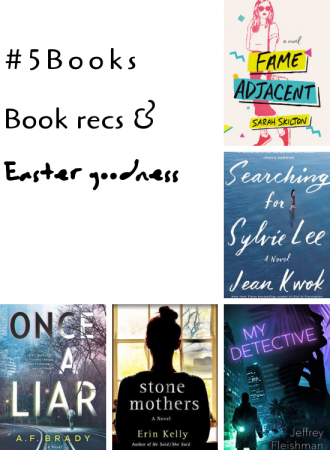 #5Books for the week ending 28 April 2019